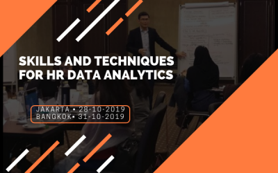 Skills and Techniques for HR Data Analytics (28 Oct)
