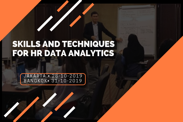 Skills and Techniques for HR Data Analytics (31 Oct)