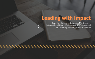 Leading With Impact – Two-day Intensive Coaching Masterclass (12-13 Dec)