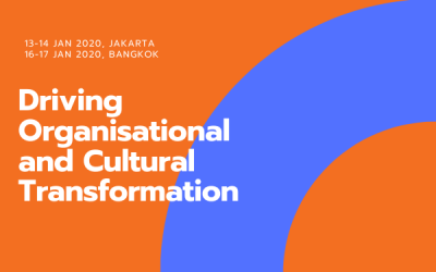 Driving Organisational and Cultural Transformation (16-17 Apr)