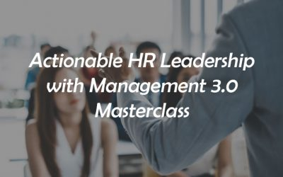 Actionable HR Leadership with Management 3.0 (08-09 Jun)
